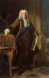 Sir Robert Walpole (1676-1745). British Prime Minister whose arguments against the reporting of Parliamentary debates resemble, in part, those used today by the Department for Work and Pensions in its FOI appeal case, as it tries to stop three Universal Credit IT programme reports being published.)