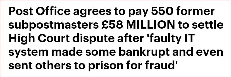 Daily Mail settlement